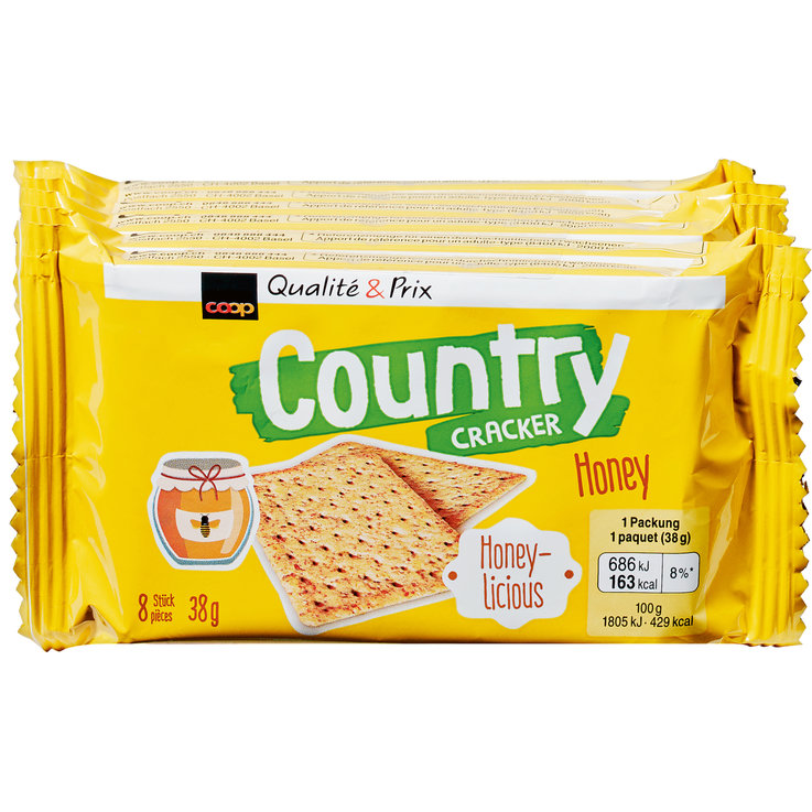 Spicy - Country Honey Crackers