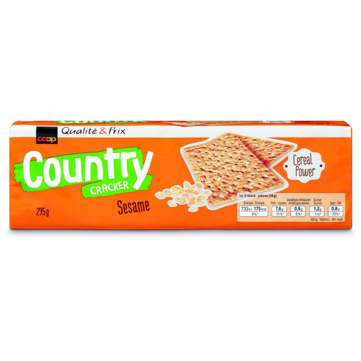 Aux épices - Country Crackers au sésame