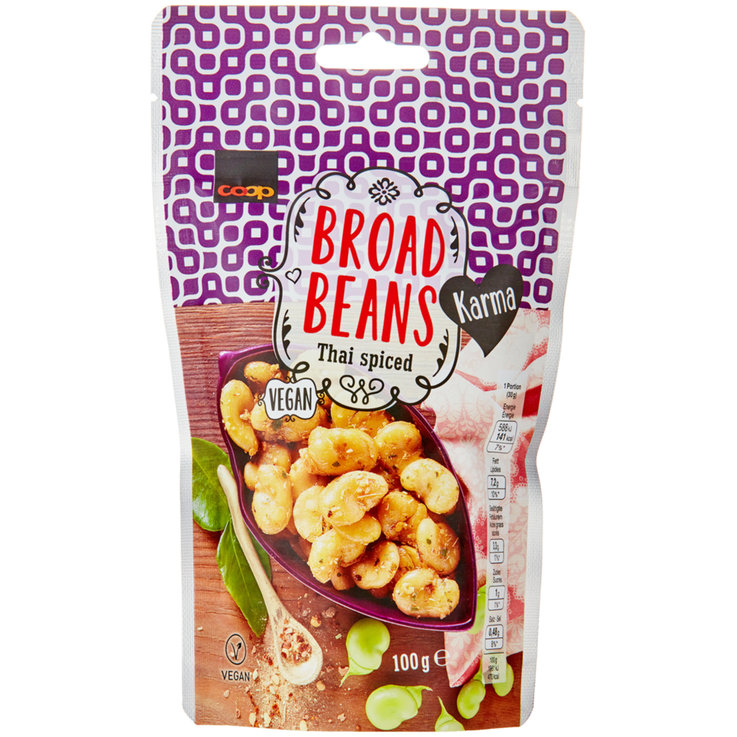 Beans & Pulses - Karma Spicy Thai Broad Beans