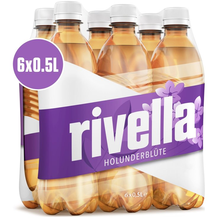 Rivella - Rivella Elderberry Carbonated Beverage 6x50cl