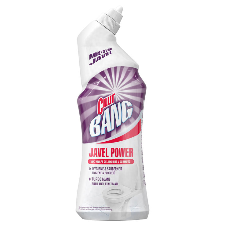 Toilet Cleaner - Cillit Bang Javel Power WC Cleaner