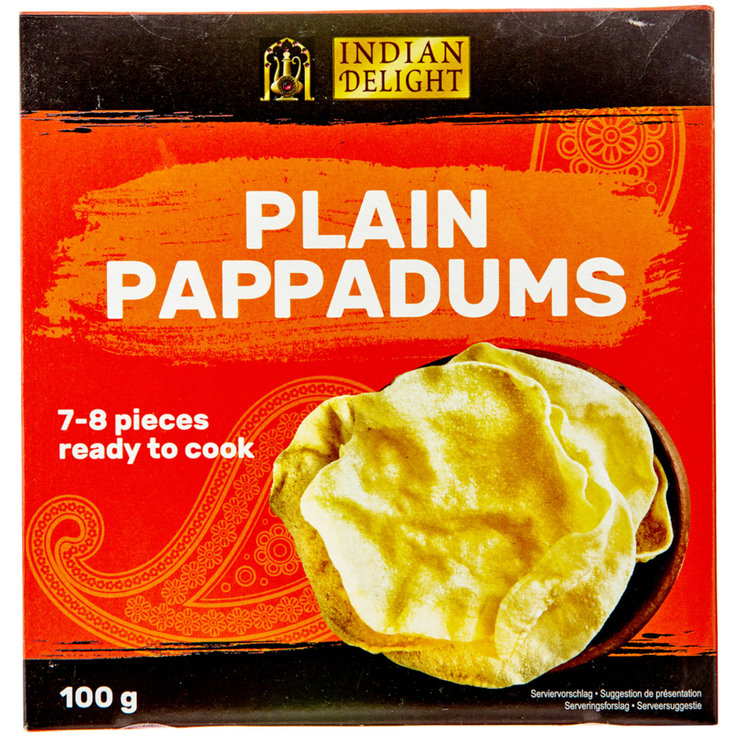Durable Breads - Indian Delight Pappadums