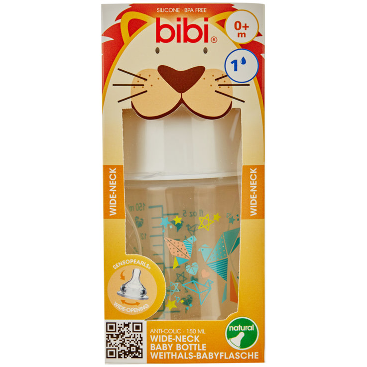 Biberon & Accessori - Bibi Biberon Collo Largo PP 150ml 0+