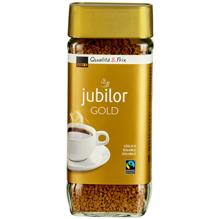 Café instantané - Fairtrade Café soluble Jubilor Gold