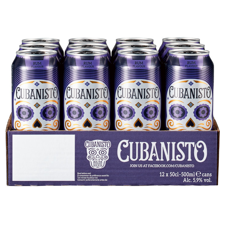 Blended Beer & Cider - Cubanisto Rum Flavored Beer 12x50cl