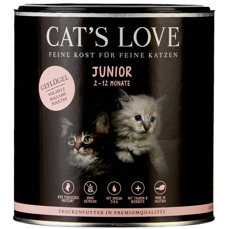 Dry Food - Cat's Love Poultry Flavoured Junior Dry Cat Food