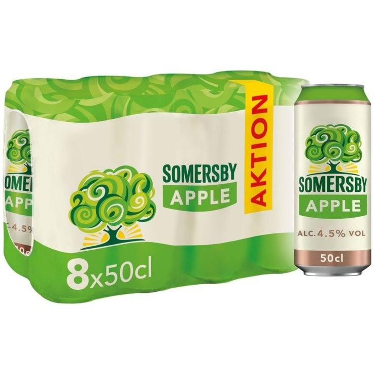 Bevande a base di birra & sidri - Somersby Apple Original Sidro 8x50cl