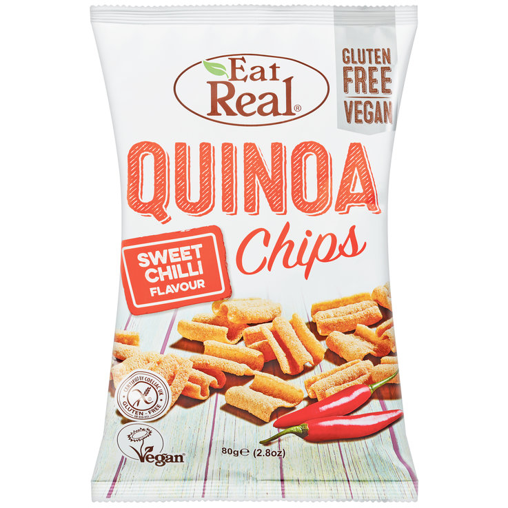 Chips speciali - Quinoa Chips Sweet Chili EatReal