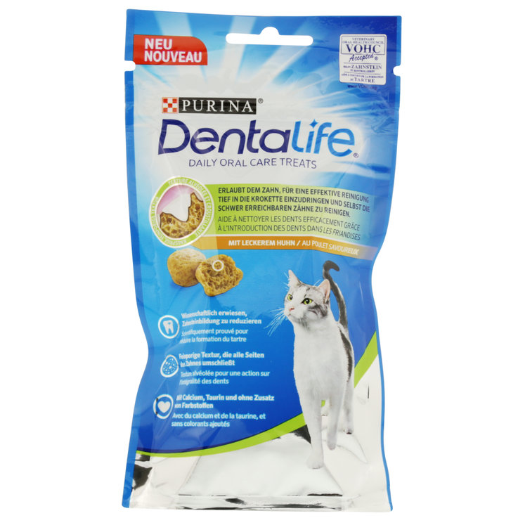 Snacks et Lait pour chat - Dentalife Snacks de poulet pour chat