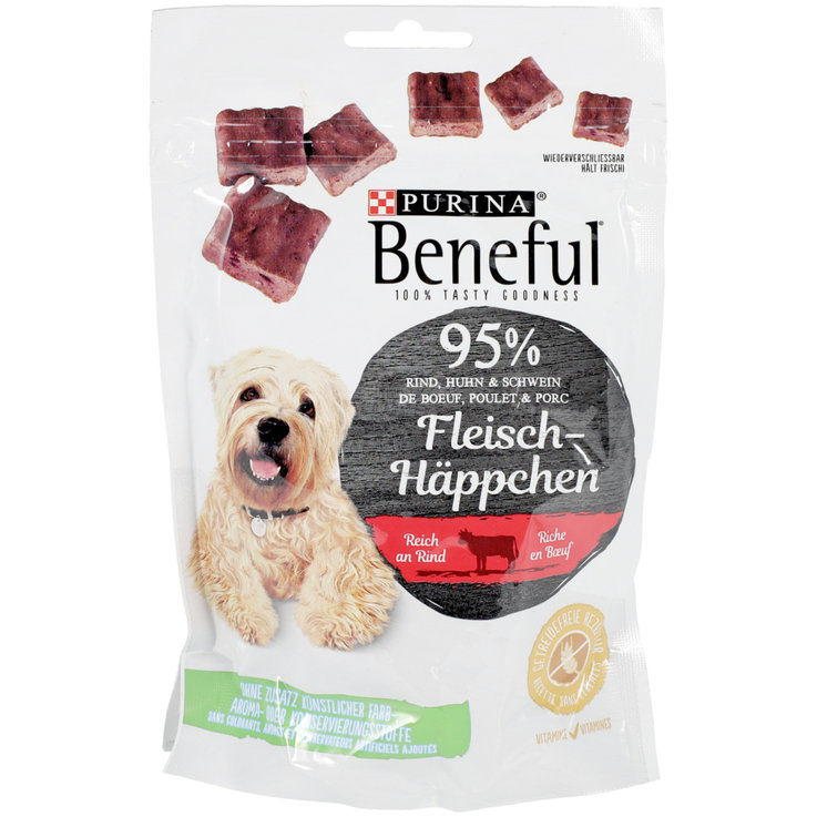 Dry Food - Beneful Beef Flavoured Dog Snacks