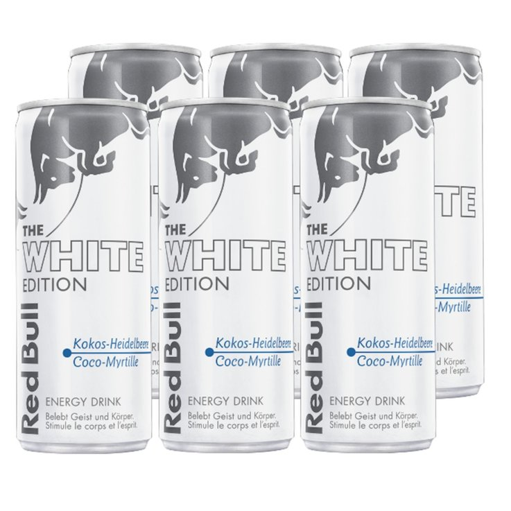 Energy drink - Red Bull White Edition 6x  25cl