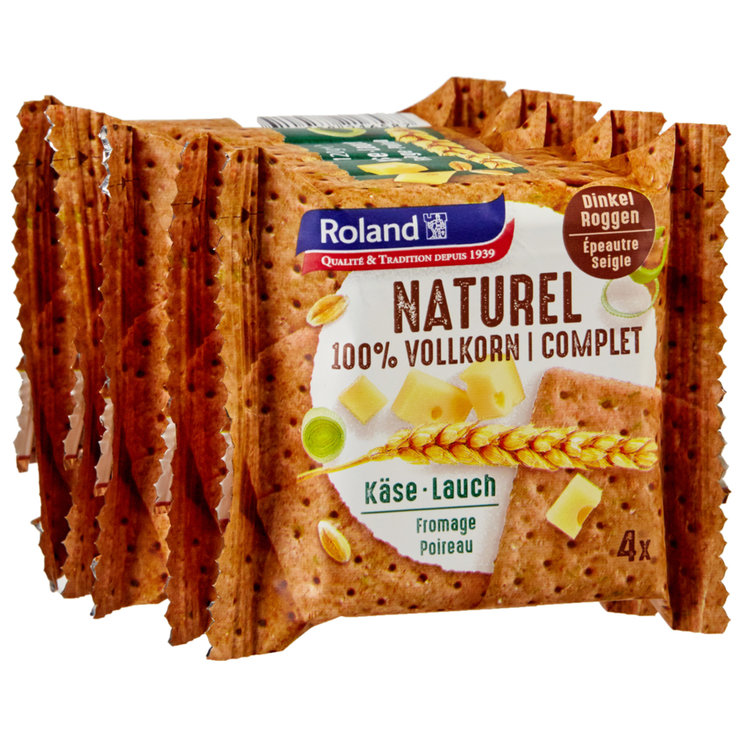 Spicy - Roland Naturel Cheese & Salmon Crackers