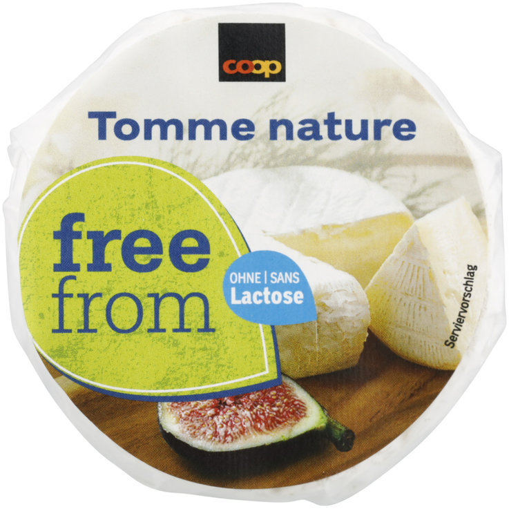 Formaggi a crosta fiorita - Free From Tomme nature