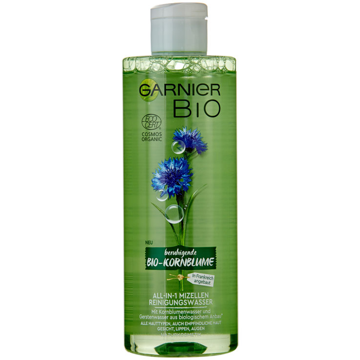 Facial Cleanser & Tonic - Garnier Organic All-in-1 Micellar Water
