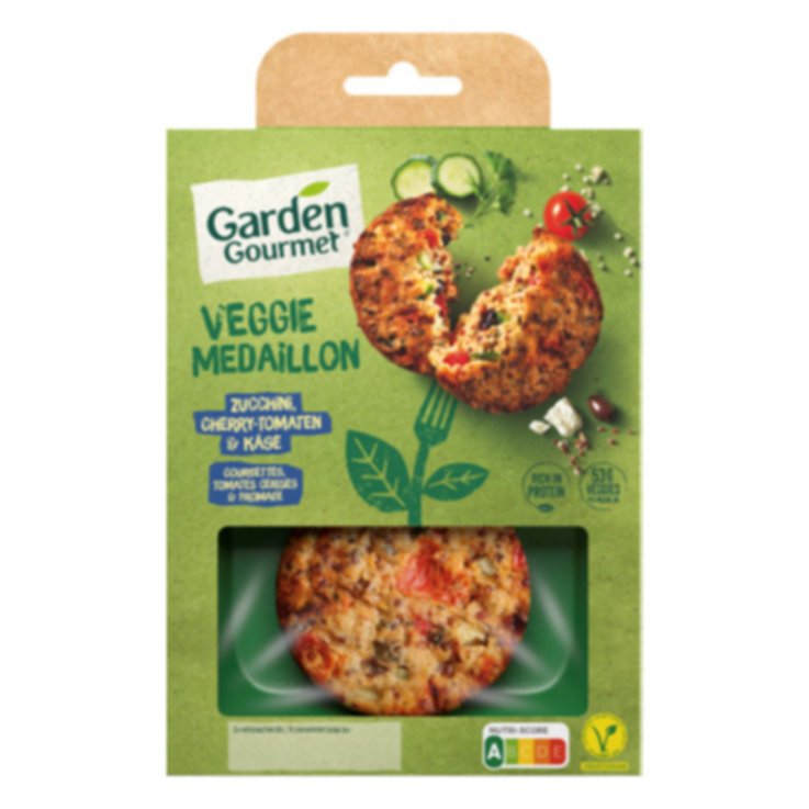 Meat Substitutes - Garden Gourmet Greek Veggie Patty