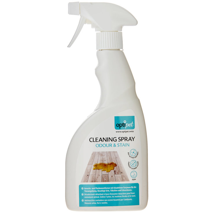 Hygiene and Care - OptiPet Urine Eliminator Cleaning Spray