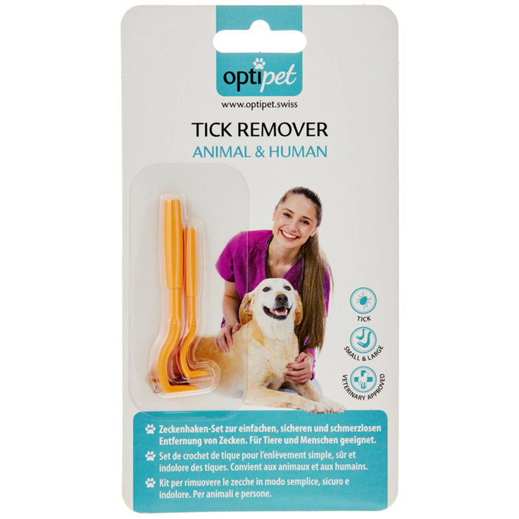 Hygiene and Care - OptiPet Animal & Human Tick Remover