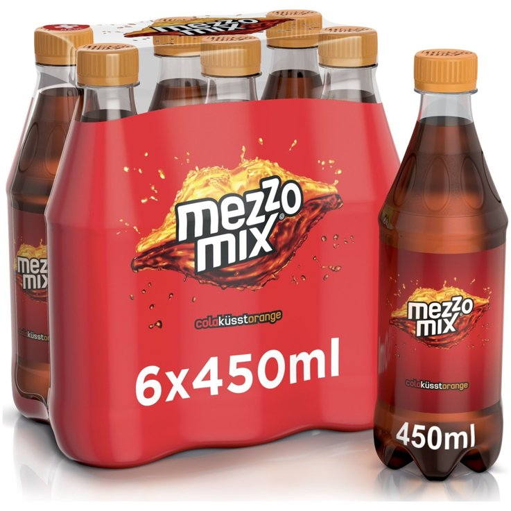 Multipack sotto 1 litro - Mezzo Mix Orange 6x45CL