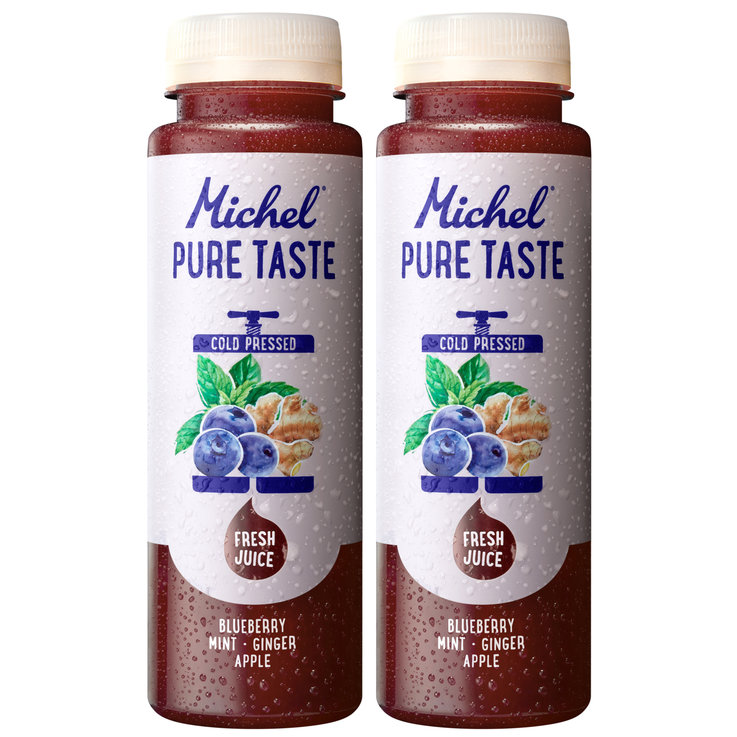 Other Fresh Juices - Michel Pure Taste Berry Ginger Fruit Juice 2x  250ml