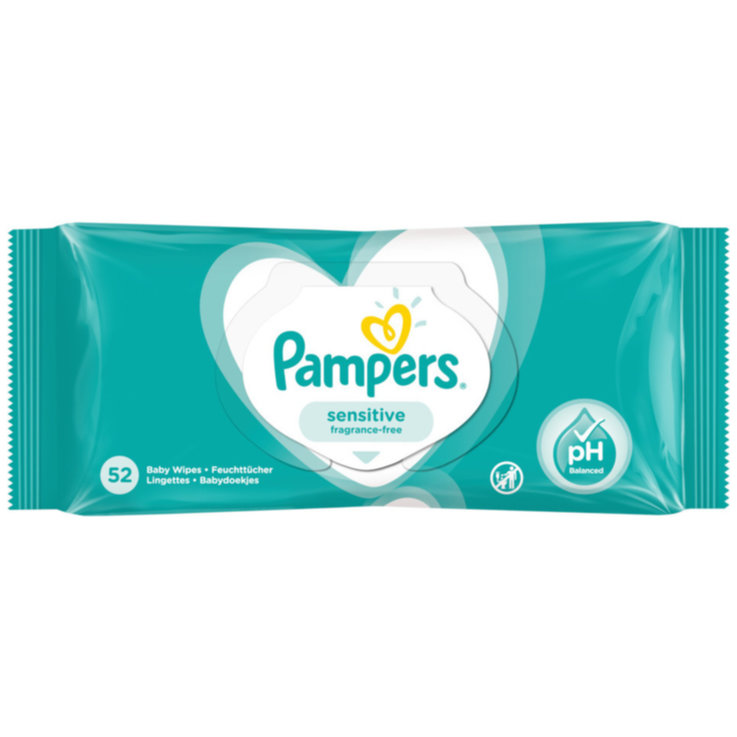 Salviette umidificate - Pampers Sensitive 52PZ