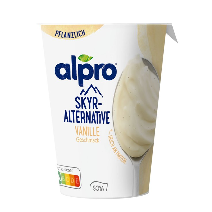 Vanilla, Caramel & Honey - Alpro Vanilla Skyr Yogurt