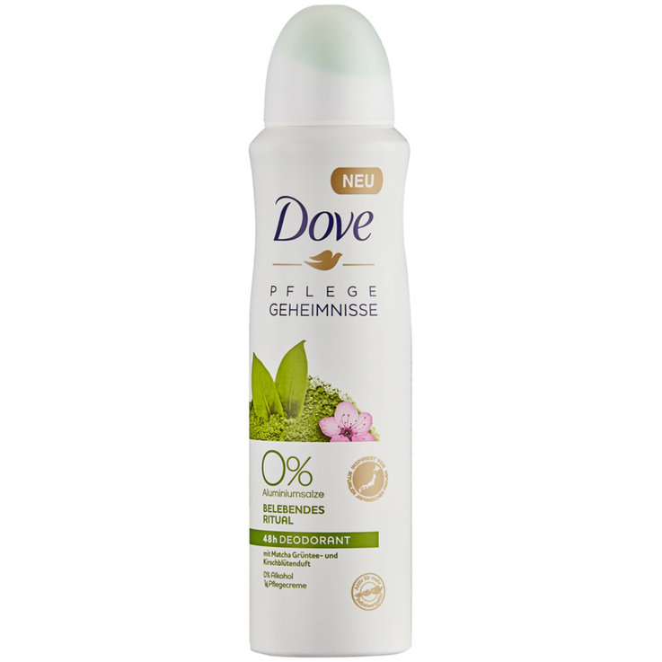 Deo-& Body Sprays - Dove Fresh Green Tea Spray Deodorant