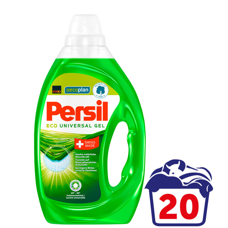 Universal & White - Persil Oecoplan Universal Laundry Detergent Gel 20 Loads