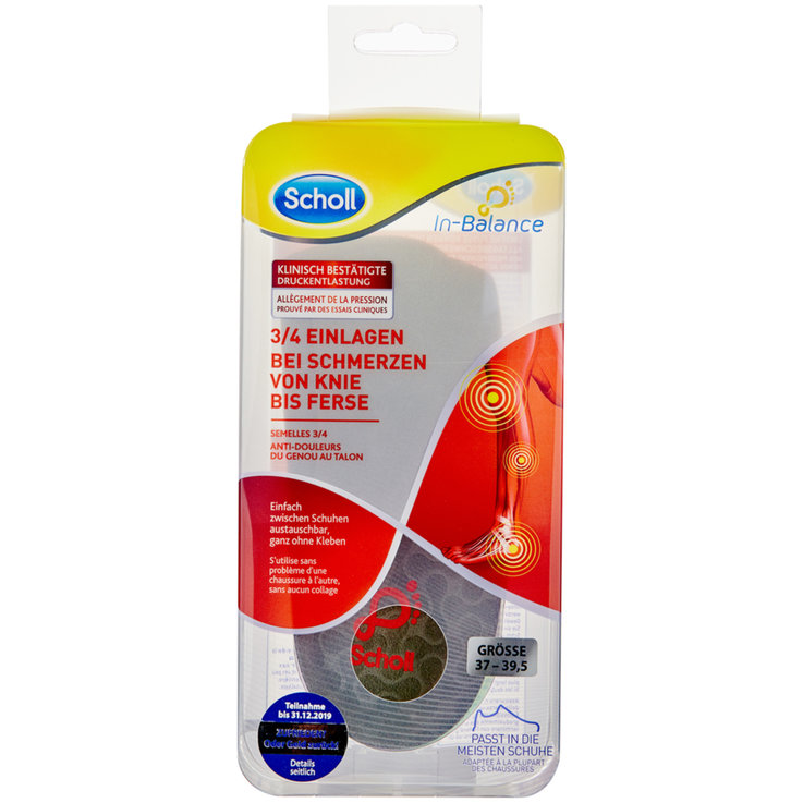 Shoe insoles - Scholl In Balance Soles S (37-39.5)
