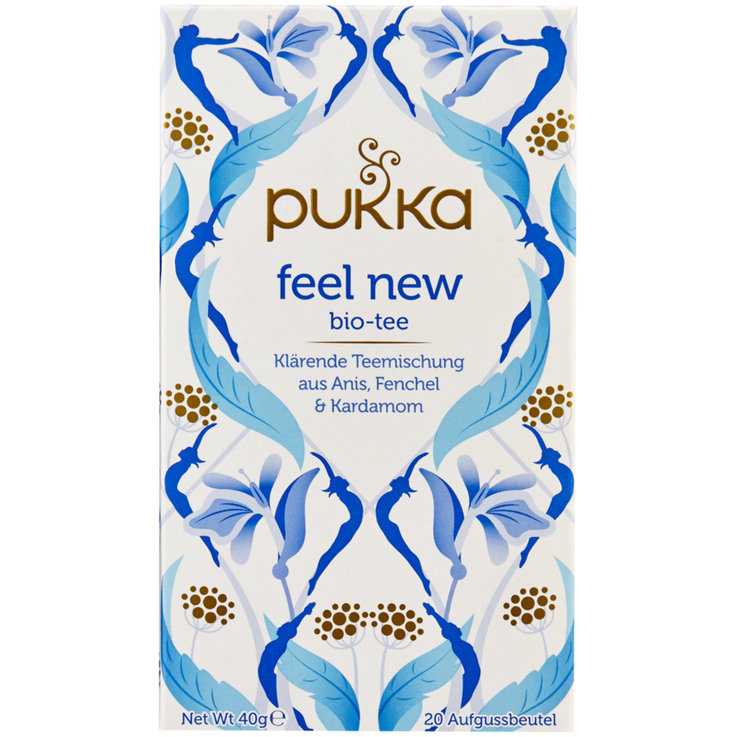 Tea Blends - Pukka Organic Feel New Tea 20 Bags