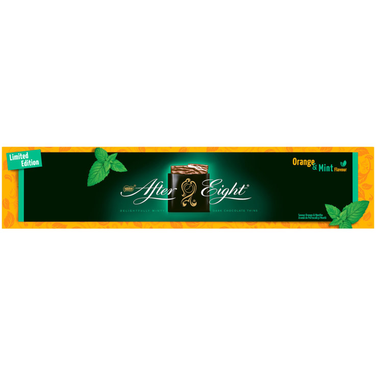 Pralines to go with Coffee - Nestlé After Eight Orange Chocolats