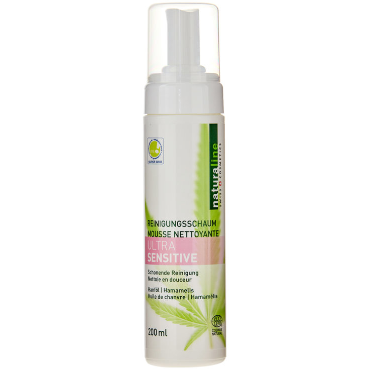 Gel detergente & peeling - Naturaline Ultra Sensitive Cleansing Mousse
