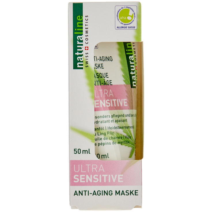 Sérums & Masques - Naturaline Masque pour le visage anti-âge Ultra Sensitive