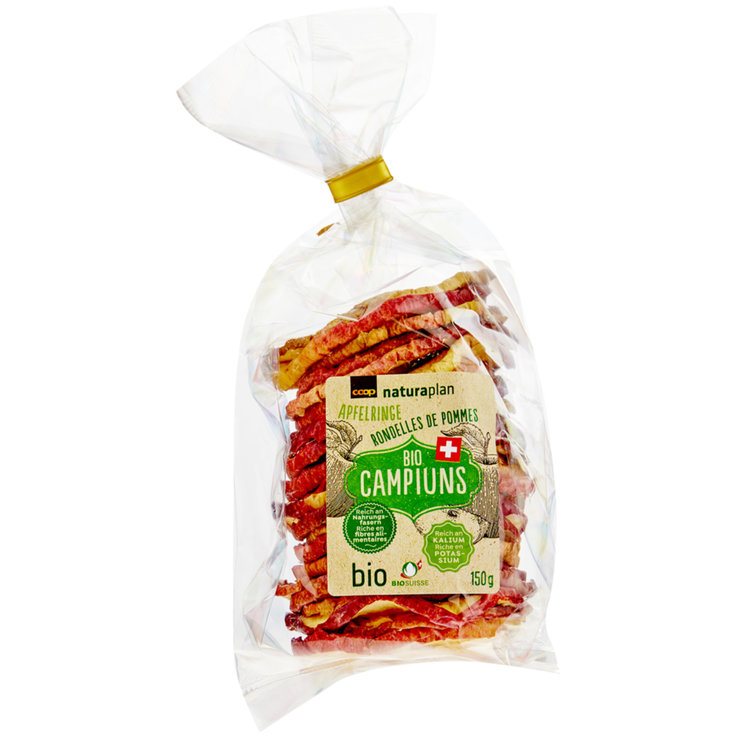 Dried Fruit - Naturaplan Bio Apfelringe