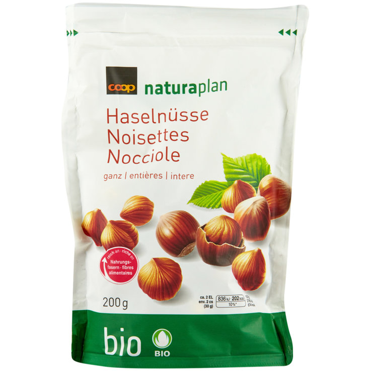 Nuts & Seeds - Naturaplan Organic Whole Hazelnuts