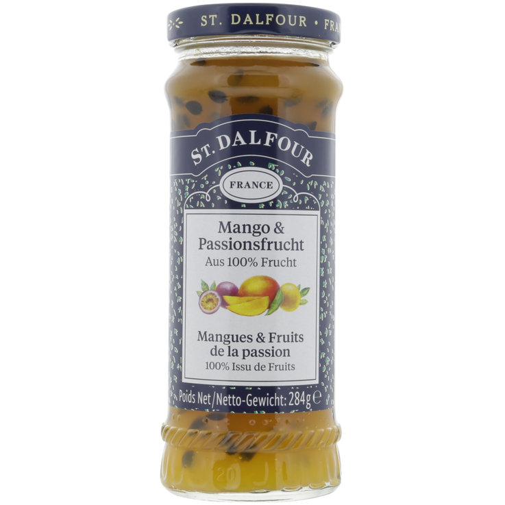 Citrus Fruit & Exotic Fruit - St. Dalfour Mango Passion Fruit Jam
