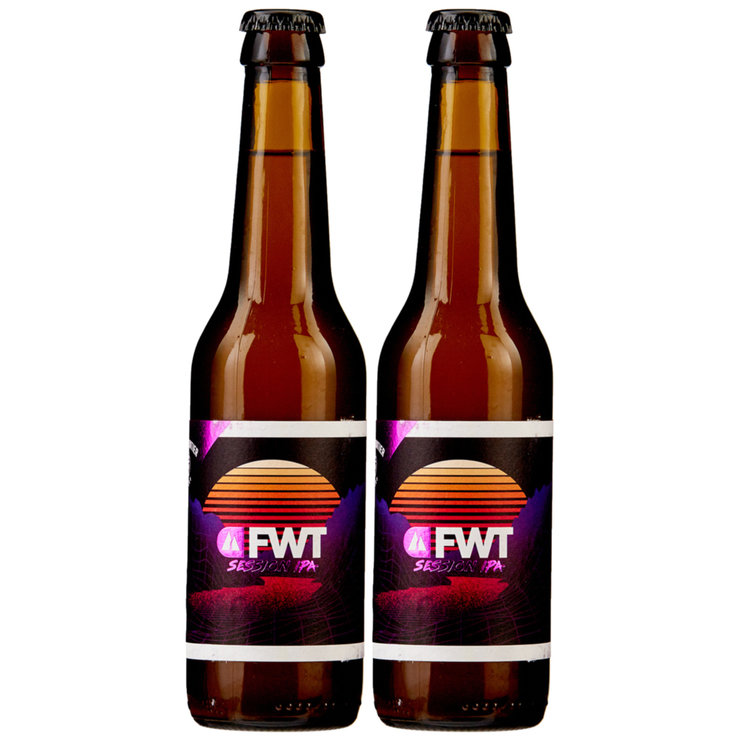 Bottles - Whitefrontier Fwt Session IPA Beer 2x  33cl