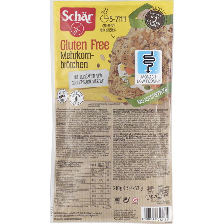 Durable Breads - Schär Gluten Free