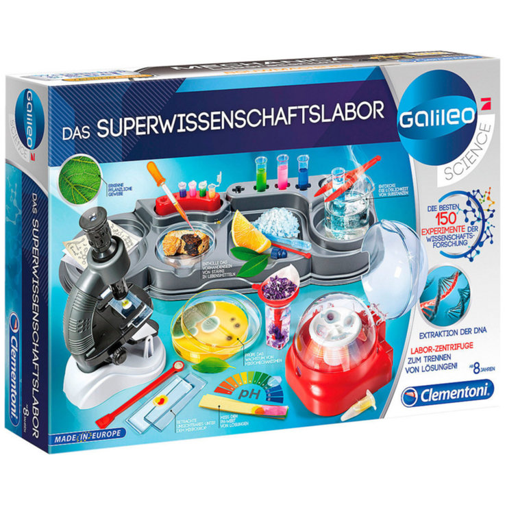 Other Toys - Super Science Lab (german) 8 Years+