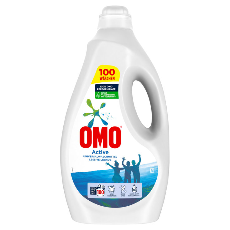 Universal & White - Omo Active Liquid Laundry Detergent 100 Loads