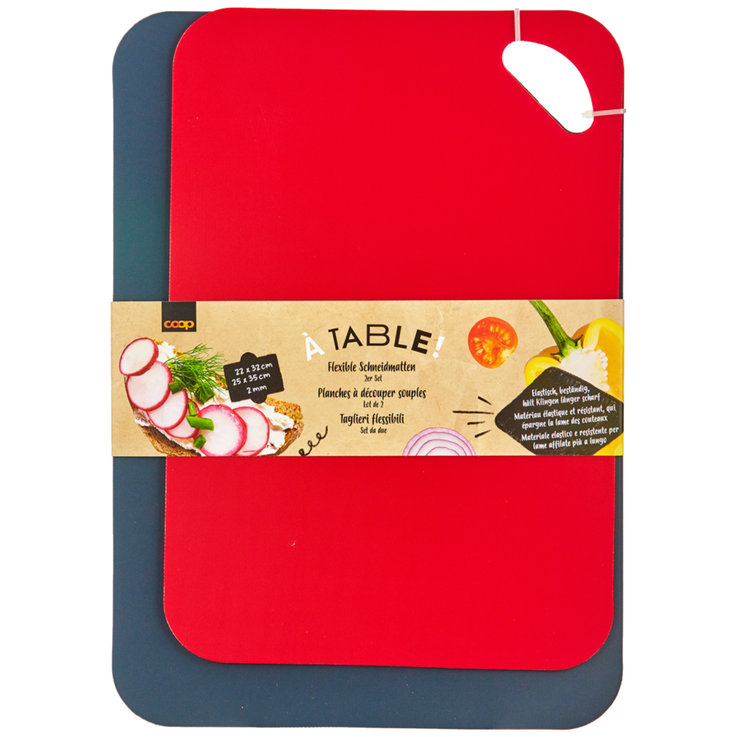Kitchen Aids - Table! Cutting Board 2 Pieces