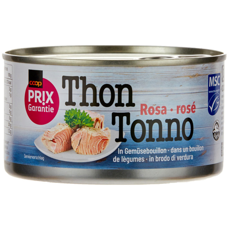 Tuna in Oil - Prix Garantie MSC Natural Pink Tuna
