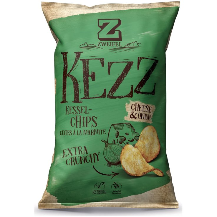 Vinegar & Gewürz Chips - Zweifel Chips Kezz Cheese & Onion
