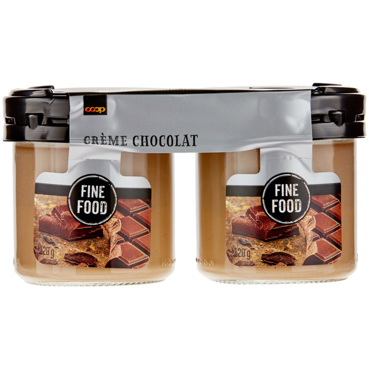 Cream & Mousse - Fine Food Chocolate Cream 2x120g
