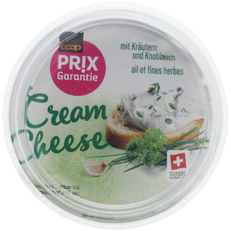 Cream Cheese & Fresh Spread - Prix Garantie Herb & Garlic Cheese Spread