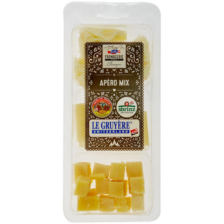 Cheese Snacks & Appetizers - Emmi Selection Apéro Cheese Mix