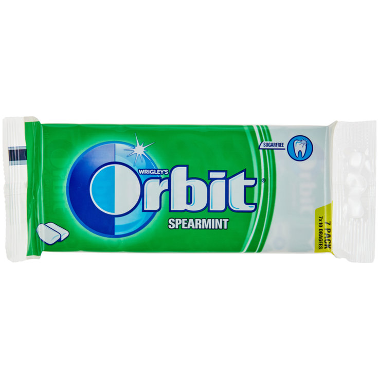 Gomme da masticare - Orbit Spearmint 7x14g