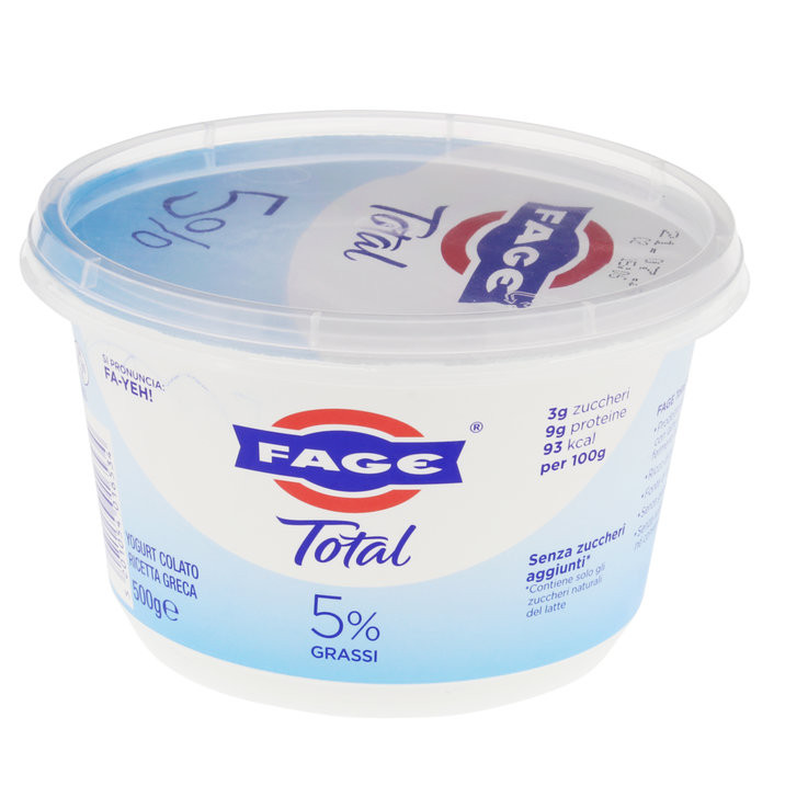Yogurt al naturale - Total yogurt greco 5% nature