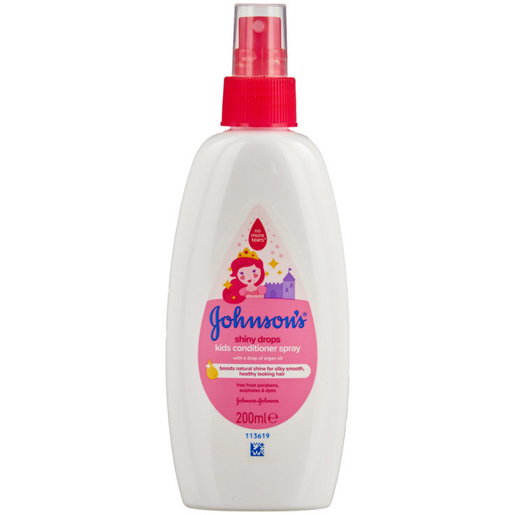 Accessoires de soins - Johnson's Baby Shiny Drops Conditioner Spray