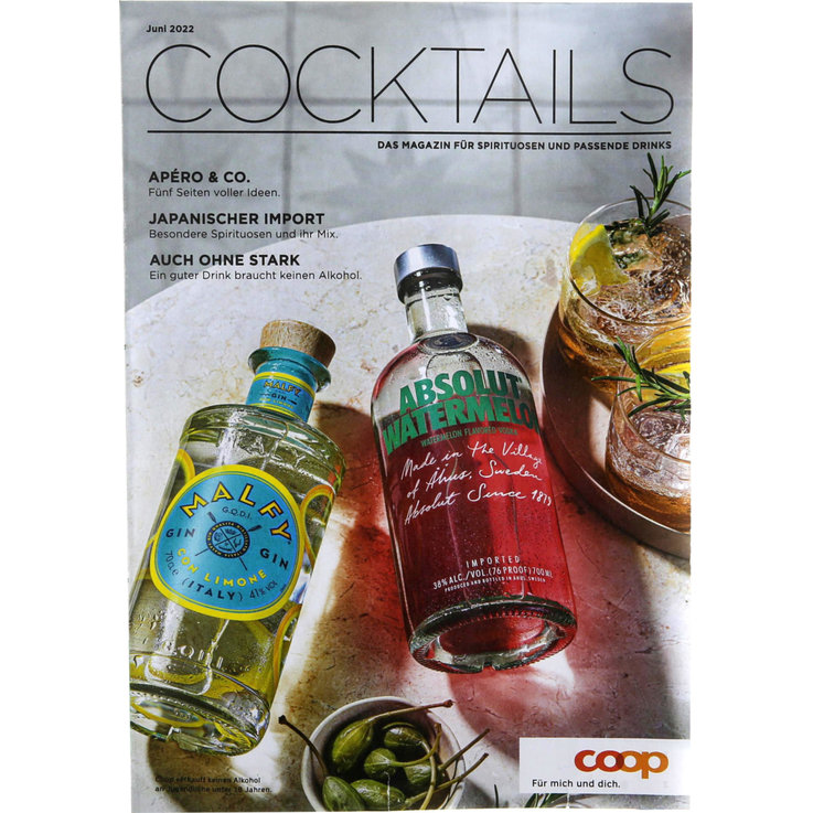 Summer Cocktails  - Biermagazin Hopfen & Malz 2020 (Deutsch)