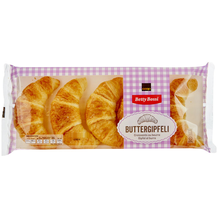 Ready-to-Bake Breads - Betty Bossi Freshly Baked Butter Croissants